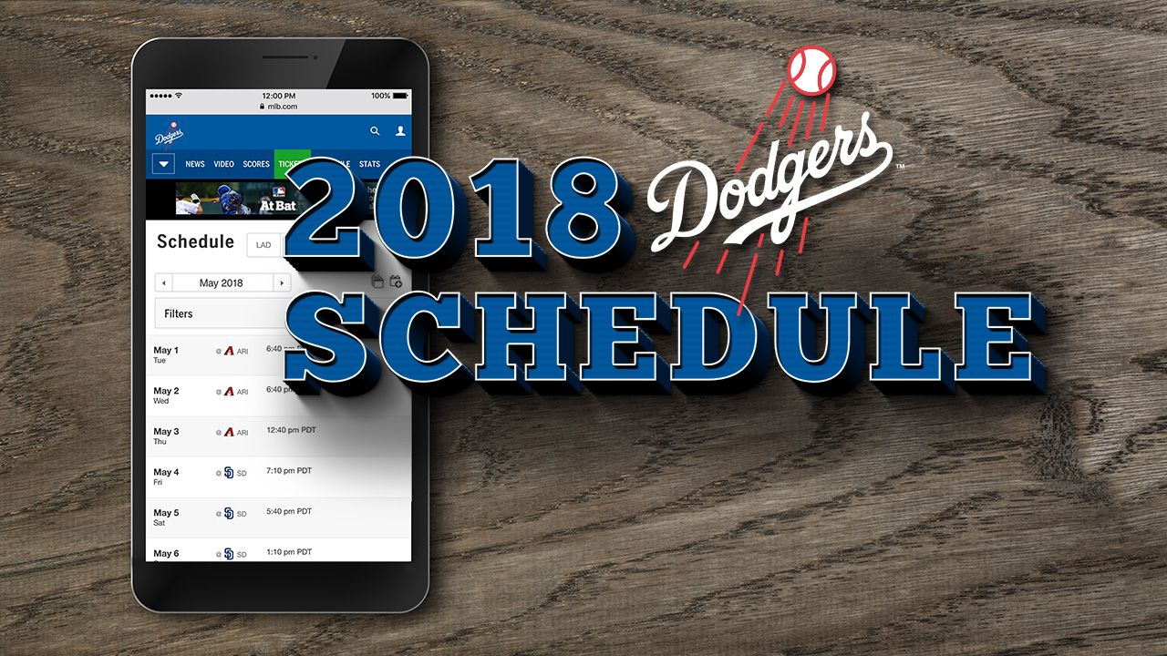 Dodgers to open, close '18 against Giants