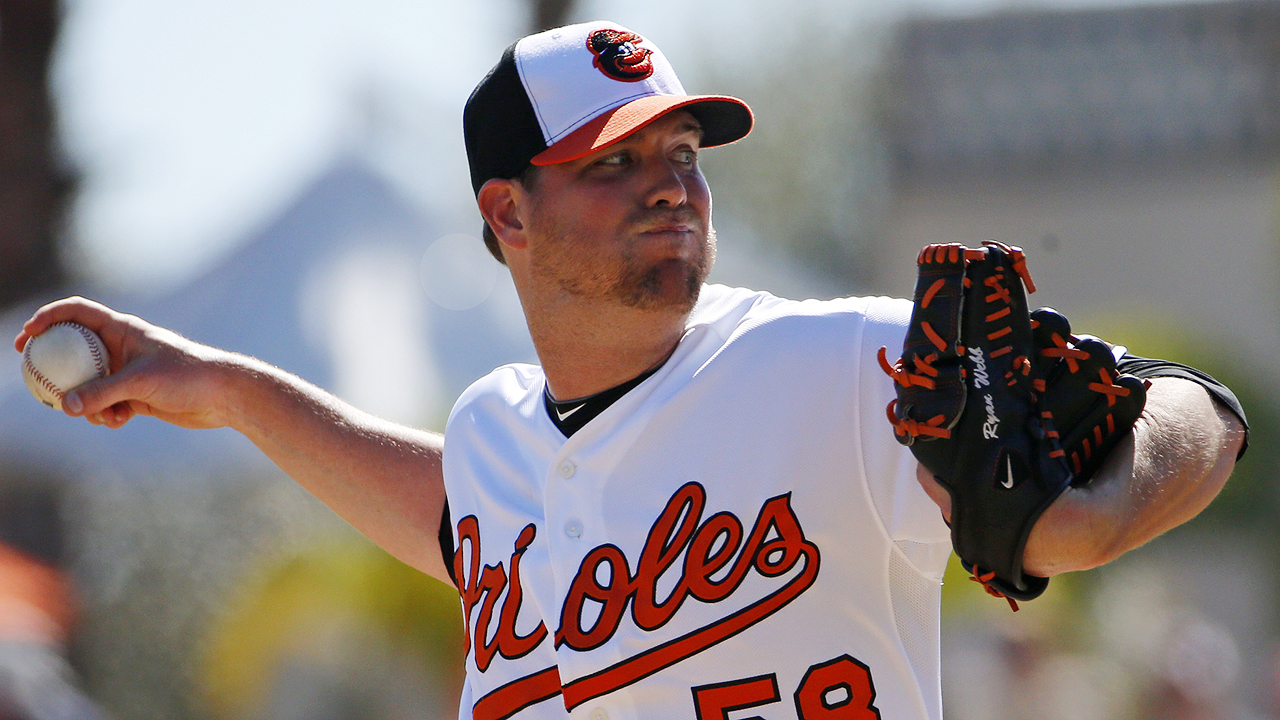 Dodgers acquire reliever Webb in trade with O's