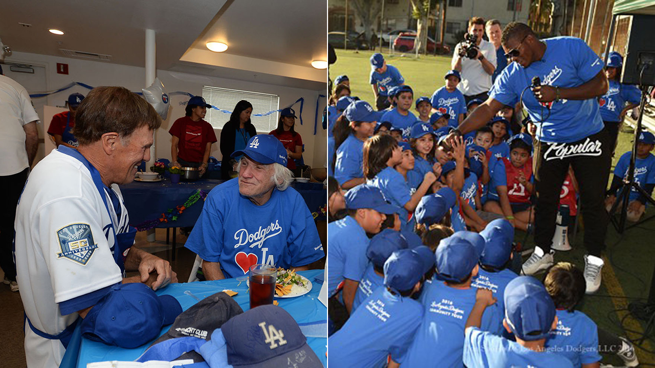 Dodgers set for community outreach in annual tour